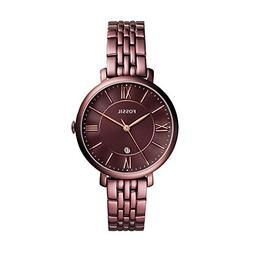 Fossil® Jacqueline Three-Hand Date Wine Stainless Steel
