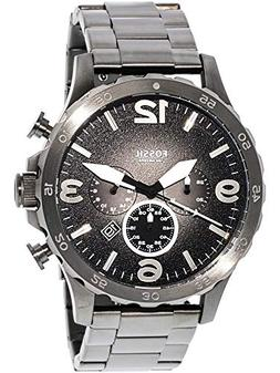 jr1437 nate chronograph smoke stainless
