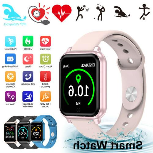 waterproof touch smart watch women men sport