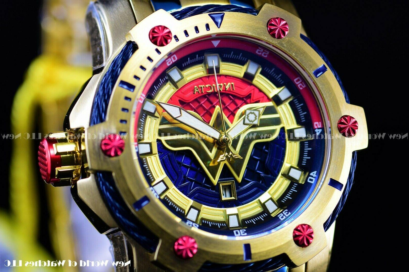 Invicta Limited Edition DC Bolt 18k Plated Watch