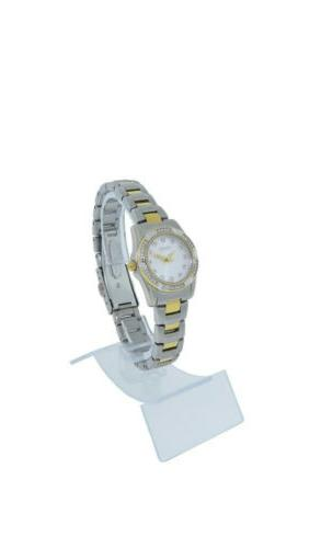 Caravelle Bulova Women's Round Gold Watch