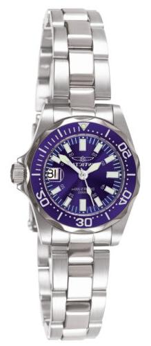 Invicta 7060 Women's Signature Blue Dial Stainless Steel Wat