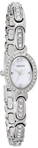 Bulova Women's 96L199 Analog Display Japanese Quartz White W