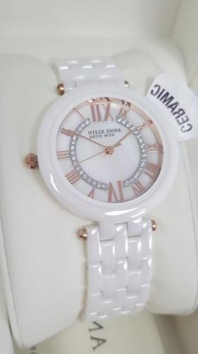 Anne Klein New Accent Ceramic Watch *NWT*