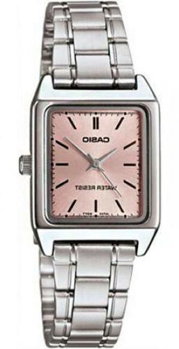 Casio Women's Analog Quartz Water Resistant Stainless Steel