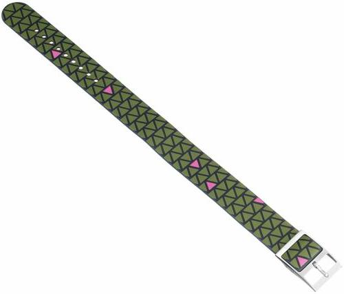 Fossil Reversible Green Leather Fits 18mm Lug Width Women's