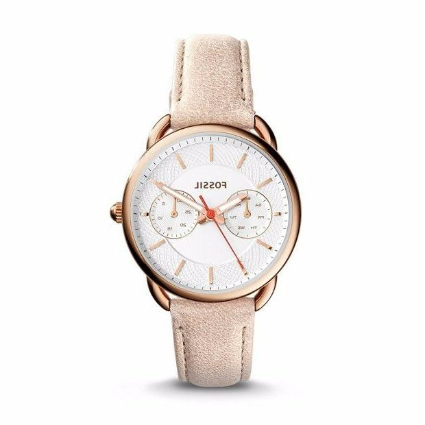 Fossil Women's ES4007 2016 Tailor Multifunction Light Brown
