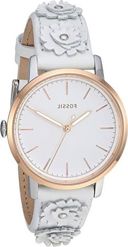 Fossil Women's Stainless Casual Watch,