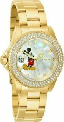 Invicta 26239 Women's Disney Limited Edition 40mm White Dial