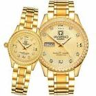 Men and Women Automatic Mechanical Watch Couple Sapphire Gla