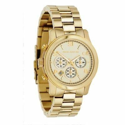 Michael Kors Mid-Size Runway Women's Chronograph Watch Gold