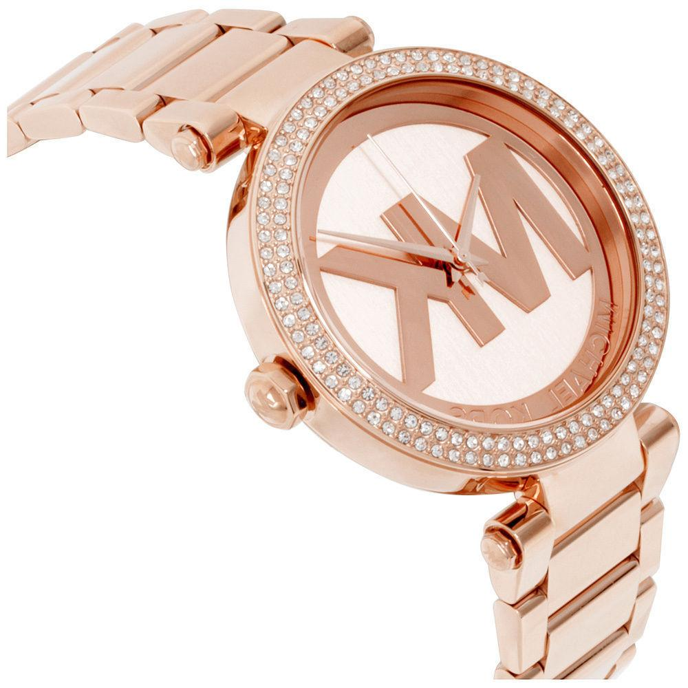Parker Rose-Gold Fashion Watch