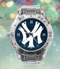 New York Yankees Custom Stainless Steel Analogue Men Or Wome