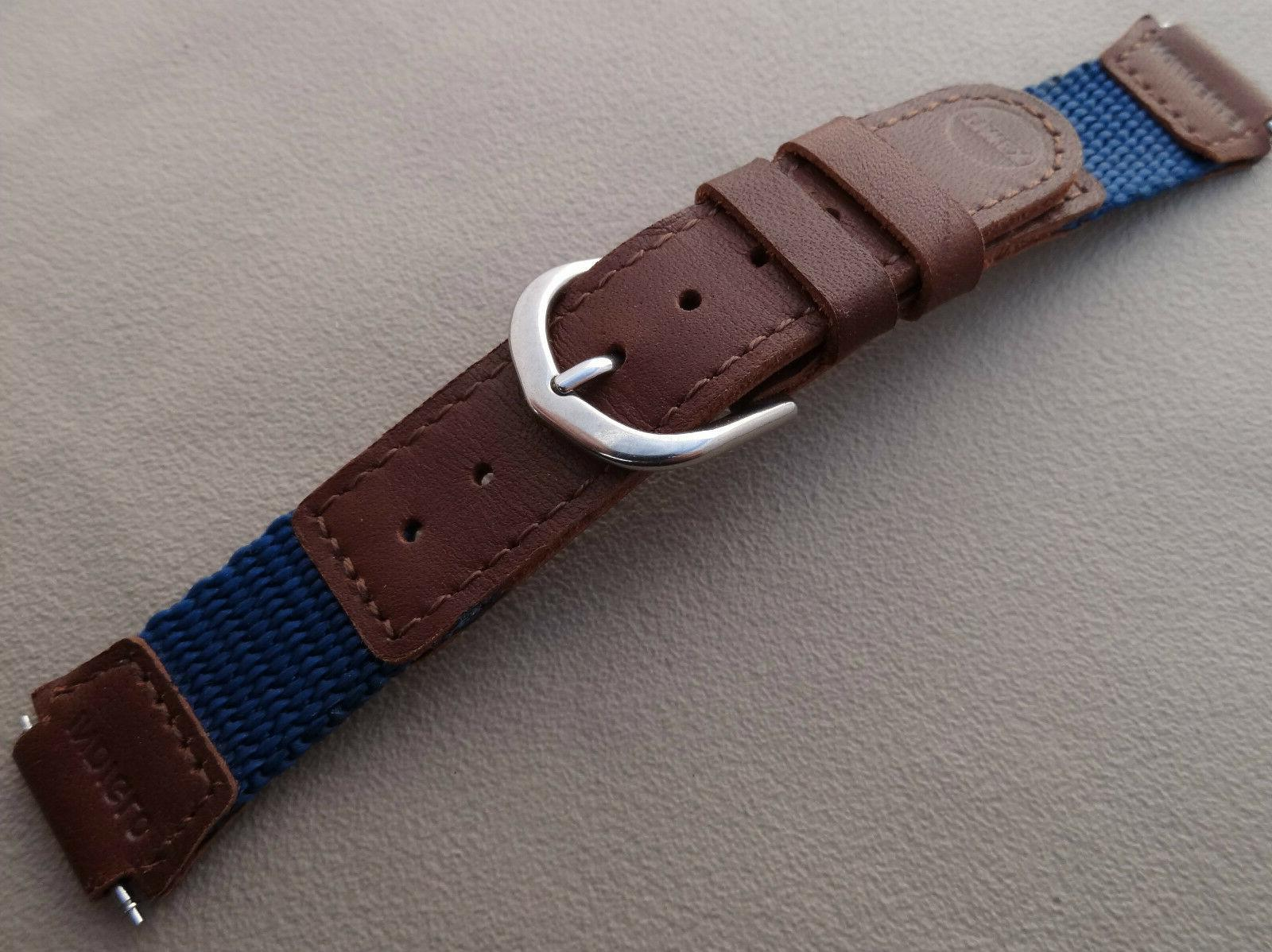 WOMENS KIDS New 16mm Nylon Timex Blue Brown Expedition Water