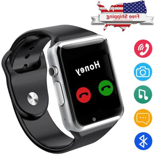 Android Smart Watch Bluetooth Phone SIM Card Slot for Women