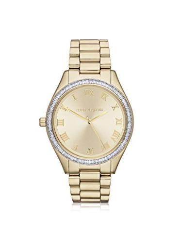 blakechampagne dial gold tone stainless