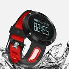 Bluetooth Smart Watch Heart Rate Monitor Blood Pressure Wate