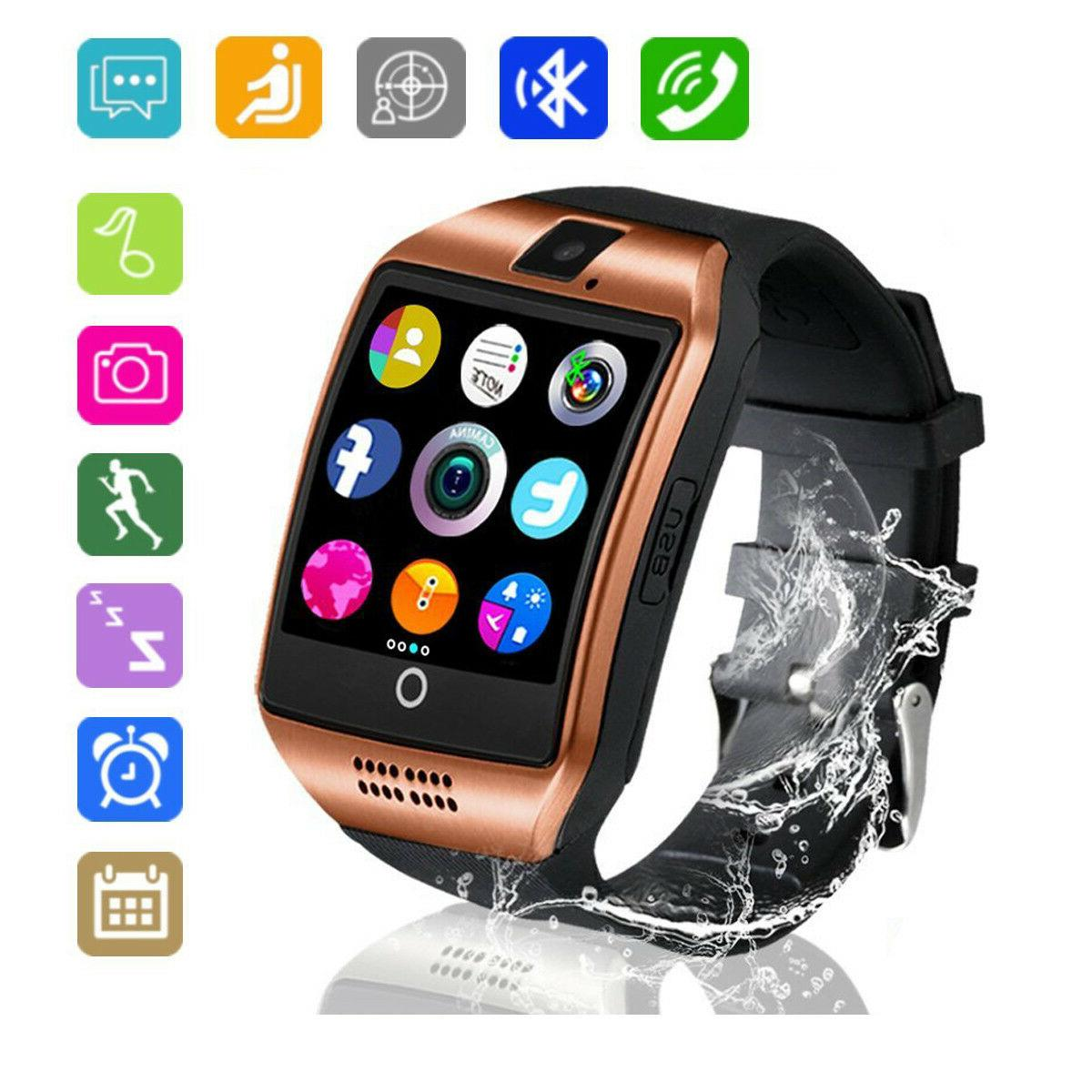 Bluetooth Smart Watch with Camera TouchScreen Watch for Andr