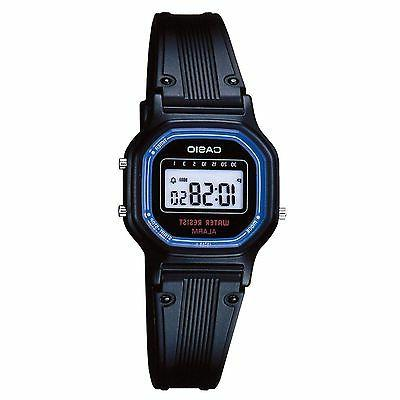 Women's Casio Casual Classic Stopwatch Alarm Watch LA11WB-1