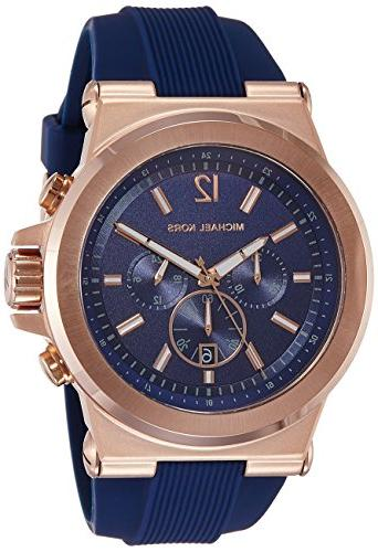 dylan rose gold tone watch