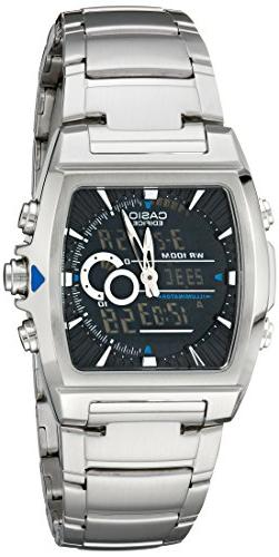 Casio Men's EFA120D-1AV Ana-Digi Edifice Thermometer Bracele