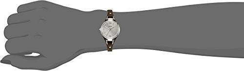 Fossil Casual Silver-Tone, Brown