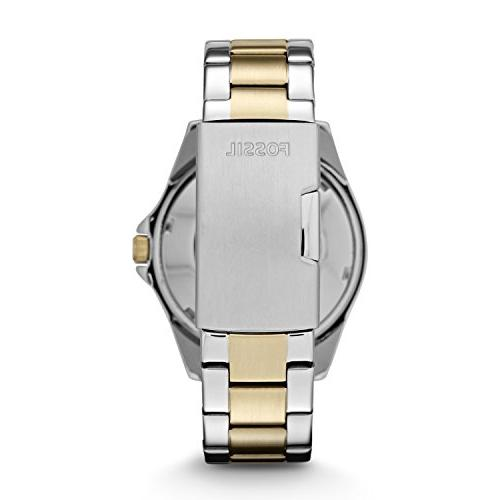 Fossil Women's Quartz Two-Tone Watch, Silver and Gold-Tone