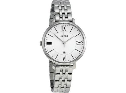 Fossil Women's ES3433 Jacqueline Three-Hand Stainless Steel
