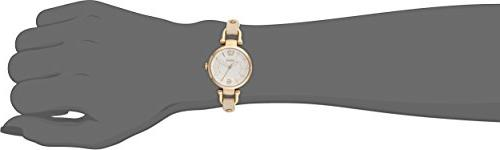 Fossil Women's Gold-Tone Stainless with Leather Strap