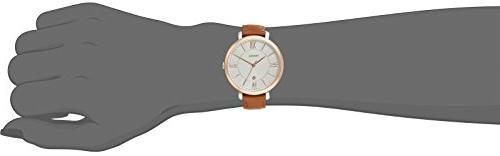 Fossil ES3842 Jacqueline Rose Gold-Tone Steel Band
