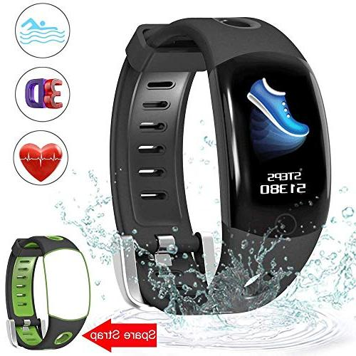 fitness tracker swimming with hd color screen