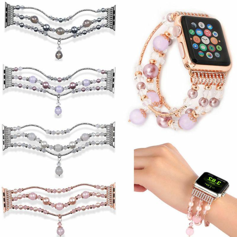 Compatible with Women's 42mm Band Beads Strap