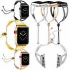 Girl Women Luxury Bracelet Watch Band Strap For Apple Watch