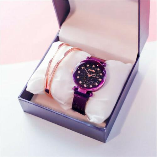 Hot Sky Watch Waterproof Stainless Women