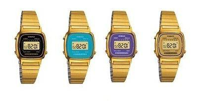 Casio LA670WGA Ladies Gold Stainless Steel Digital Classic V