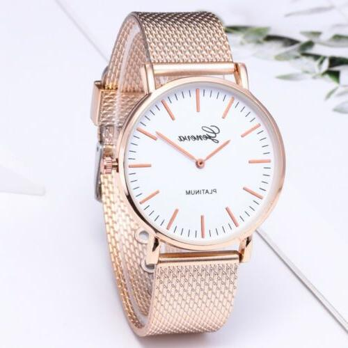 1pcs Geneva Crystal Quartz Analog Wrist
