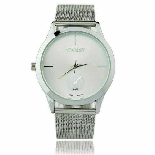 Luxury Stainless Strap Wrist New
