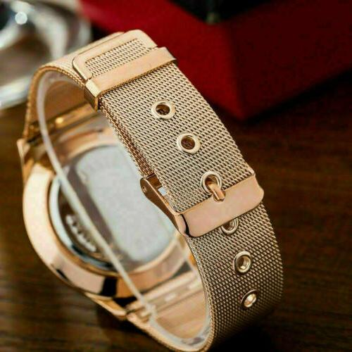 Luxury Stainless Steel Strap New