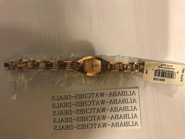 New Fossil BQ1069 Gold Isobel Womens Watch
