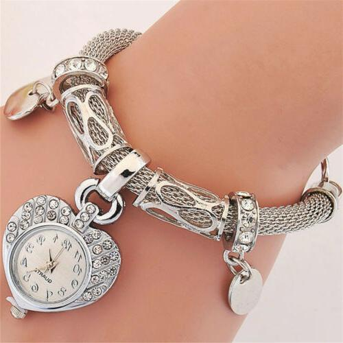 New Watch for woman silver bangle band crystal Fashion