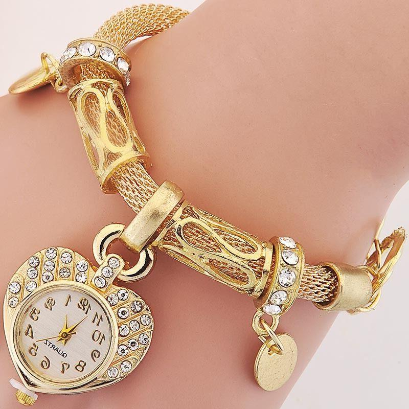 new bracelet wrist watch for woman silver