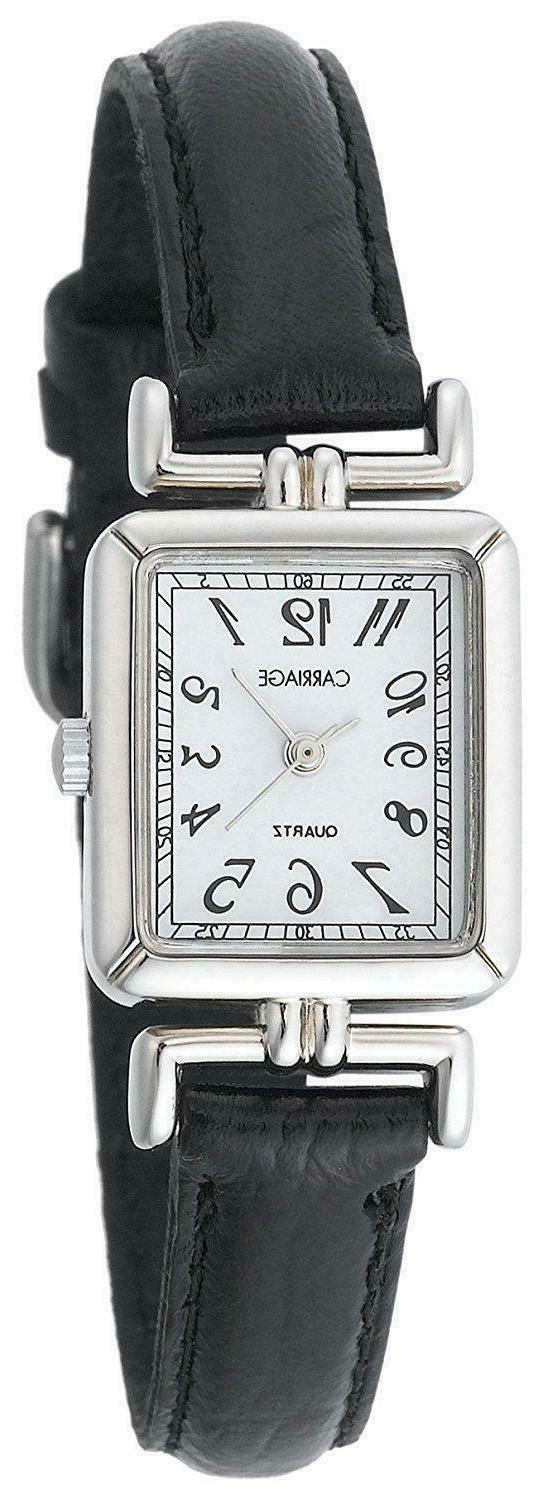 new carriage watch c2a901 womans stainless steel
