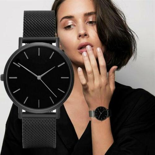 New Fashion Geneva Women Leather Band Stainless Steel Quartz