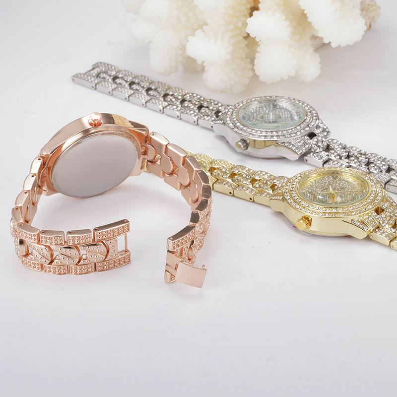 New Fashion Women's Crystal Band Wrist