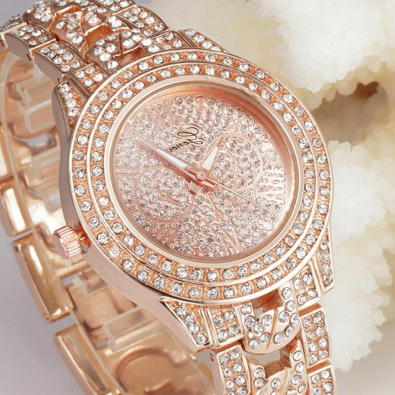 new fashion women s crystal rhinestone stainless