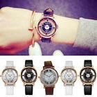 NEW Sale Womens Leather Strap Dial Quartz Wrist Watch Ladies