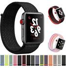 Nylon Loop Strap Replacement Sport Band Strap 38mm 42mm For