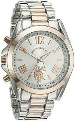 U.S. Polo Assn. Women's Quartz Metal and Alloy Casual Watch,