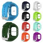 Replacement Watchband Wrist Band Strap Silicone W/ Buckle Fo
