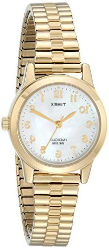 Timex Women's T2M827 Essex Avenue Gold-Tone Stainless Steel